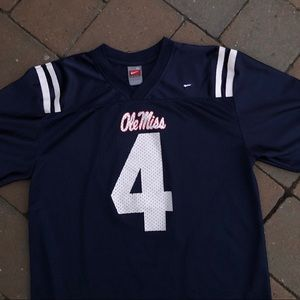 Ole Miss Nike College Football Jersey Number 4